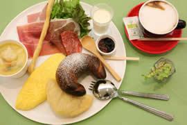 朝食メニュー:イタリアの朝