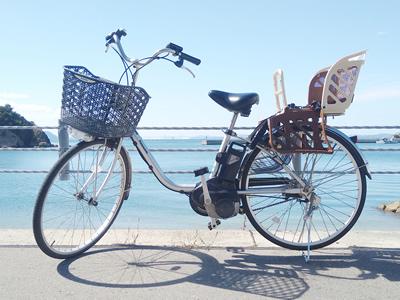 電動自転車(チャイルドシート付)