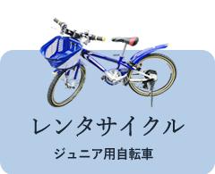 レンタカー:ジュニア用自転車