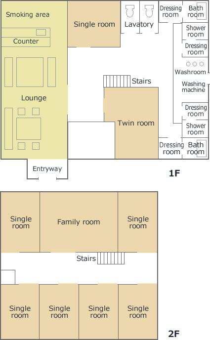 inn GIYA Floor plan