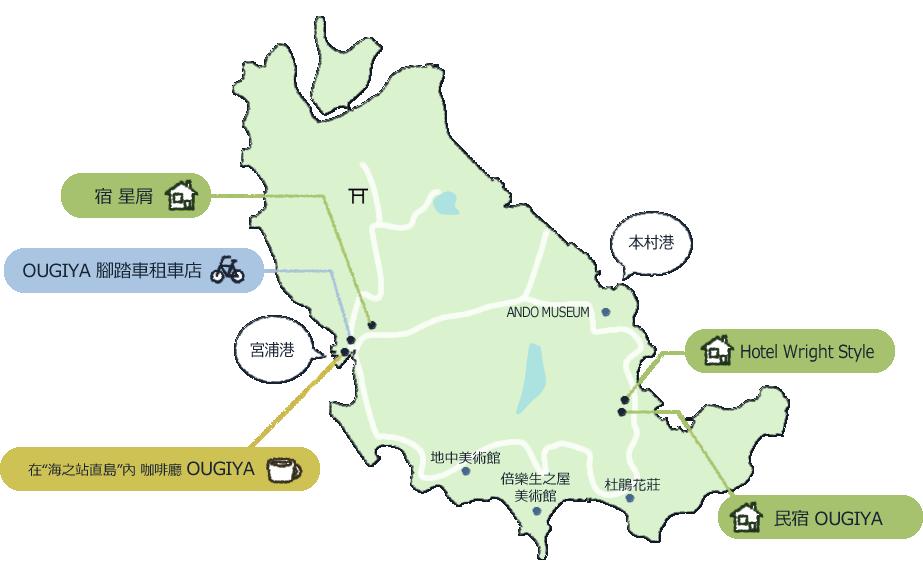 Naoshima Map